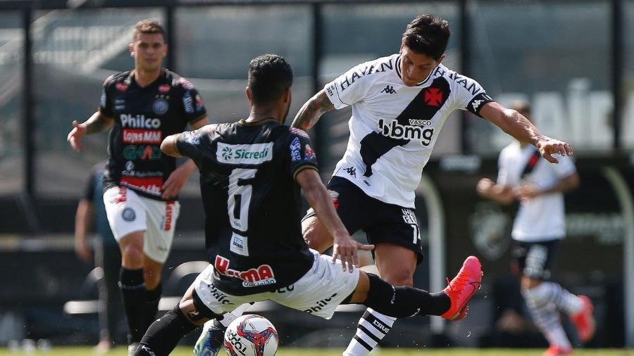 Vasco perdeu por 2 a 0 para o Operário, em São Januário, na estreia na Série B do Campeonato Brasileiro - Rafael Ribeiro/Vasco