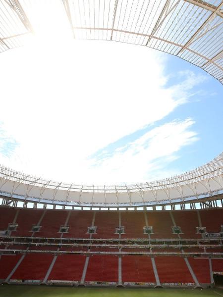 Estádio Nacional de Brasília Mané Garrincha em registro de 2014 - Frank Ossenbrink/ullstein bild via Getty Images