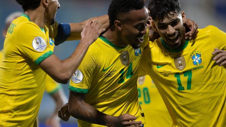 Brasil - Lucas Figueiredo/CBF - Lucas Figueiredo/CBF