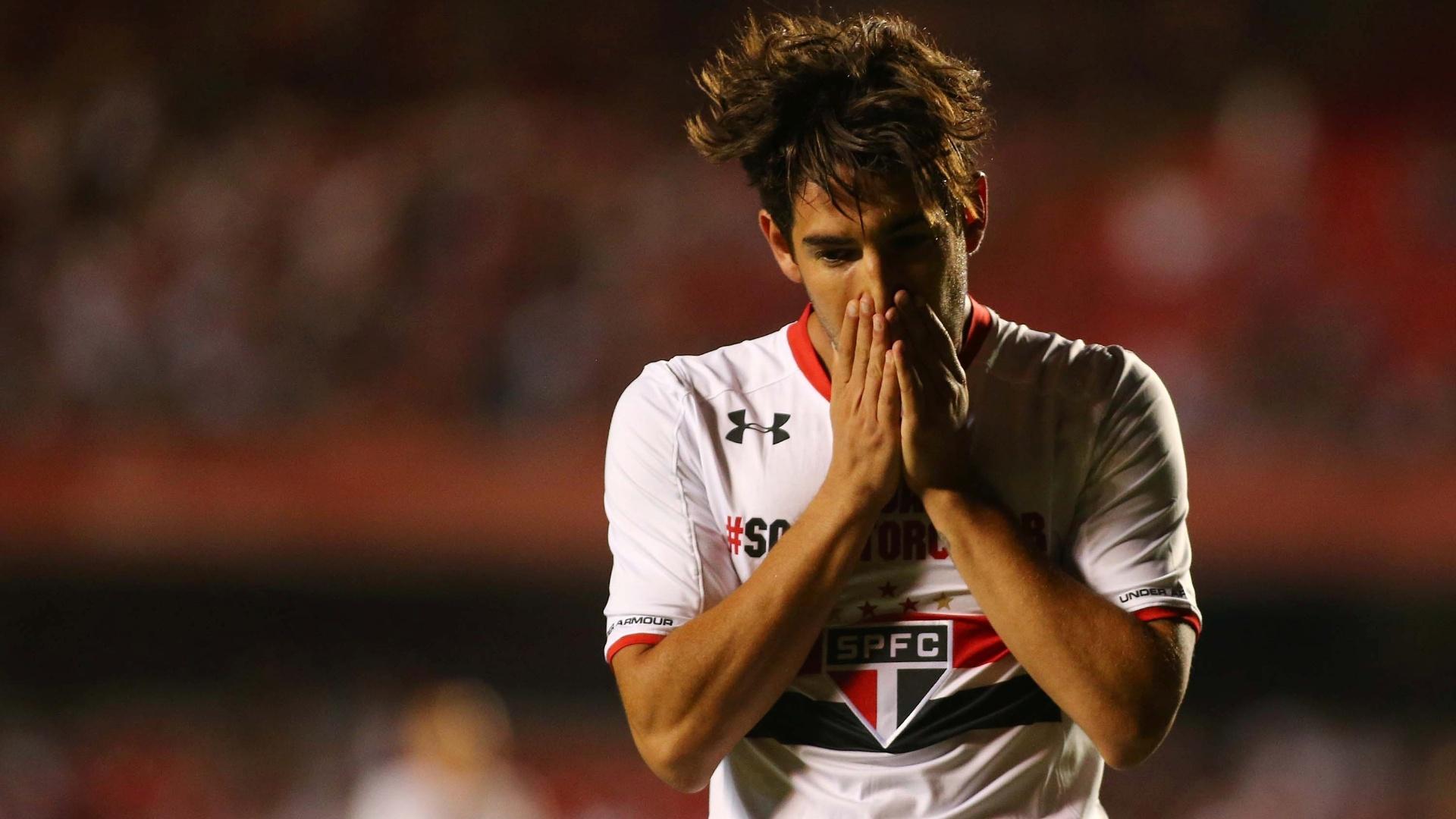 Pato lamenta oportunidade perdida na partida entre São Paulo e Goiás