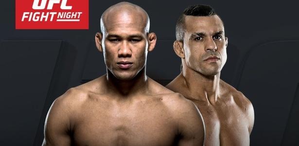 Ronaldo Jacaré e Vitor Belfort irão se enfrentar em evento que acontecerá no Brasil - Divulgação/UFC