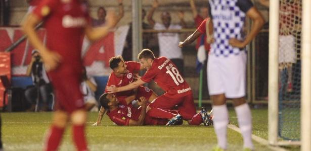 Ernando fez o gol do Inter contra o São José que colocou o Colorado na final - Ricardo Duarte/Internacional