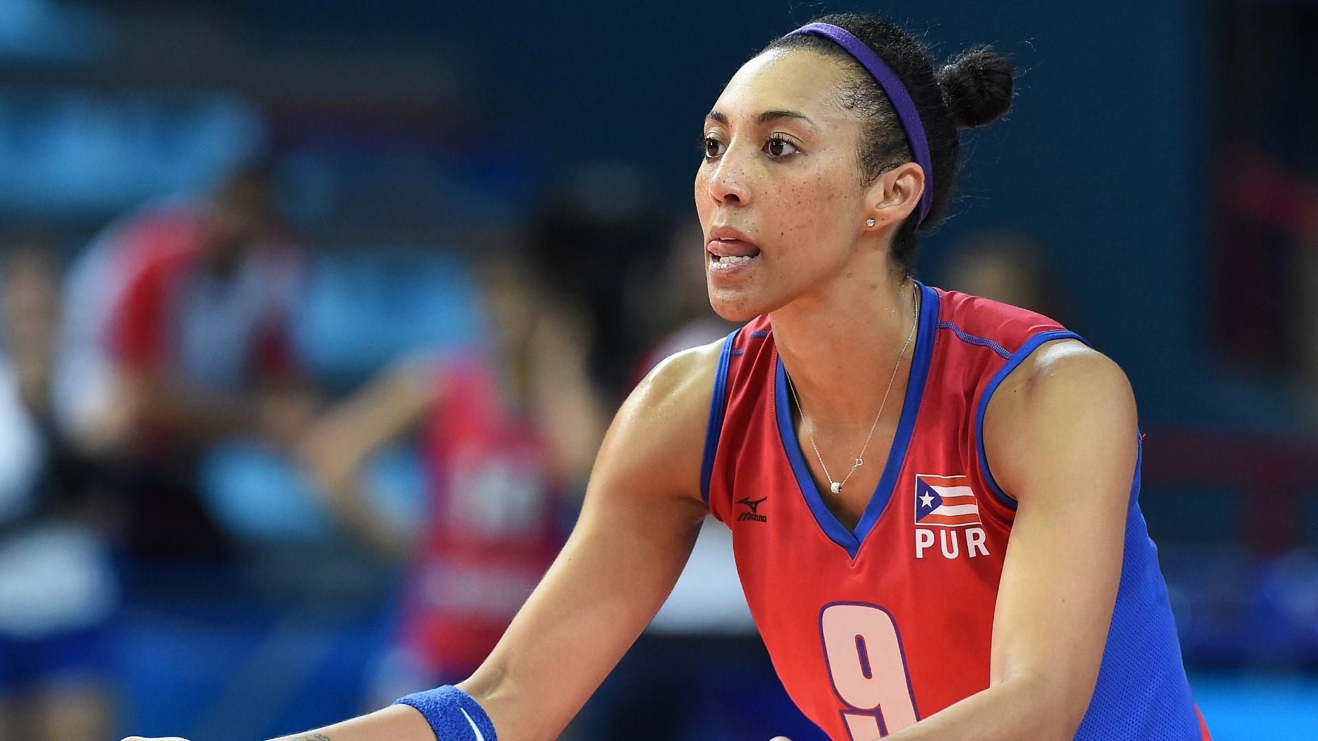 Aurea Cruz, atleta de Porto Rico