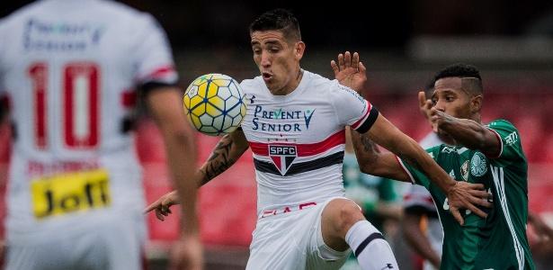 Centurión ganhou uma nova chance como titular do São Paulo