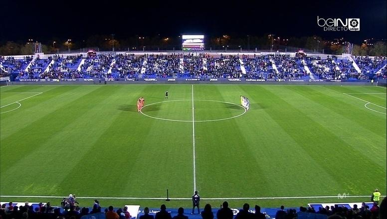 Valencia e Leganés fizeram um minuto de silêncio antes de a bola rolar pela Copa da Espanha