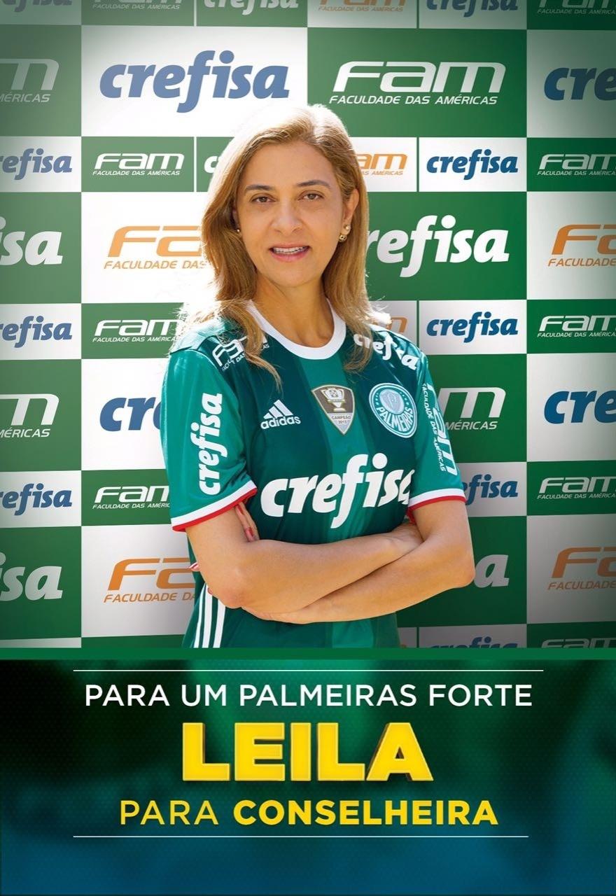 Leila Pereira conselheira campanha
