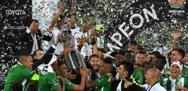 Atletico Nacional, da Colômbia, é o atual campeão da Copa Libertadores da América