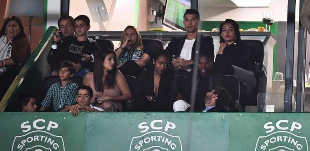 Cristiano Ronaldo iniciou a carreira no Sporting