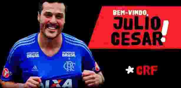 fb06b1b445 Flamengo anuncia retorno do goleiro Julio Cesar