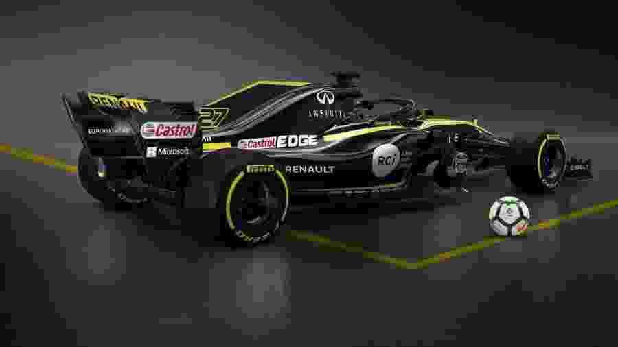 LaLiga estampará marca em carros da Renault na temporada 2018 da Fórmula 1 - Renault F1/Divulgação