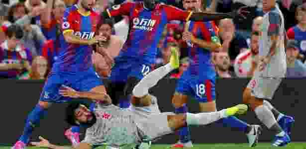 Liverpool se beneficiou de um pênalti sofrido por Salah; na cobrança, Milner marcou - REUTERS/Eddie Keogh - REUTERS/Eddie Keogh