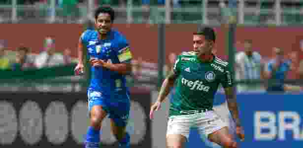 Dudu foi o destaque do Palmeiras na vitória sobre o Cruzeiro - Marcello Zambrana/AGIF - Marcello Zambrana/AGIF