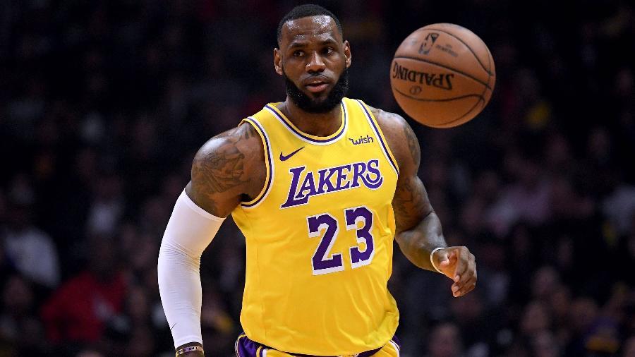 LeBron e Antetokounmpo definem equipes do All-Star Game da NBA - Harry How/Getty Images/AFP