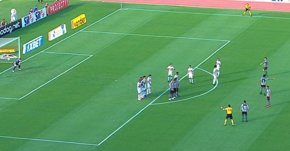 Botafogo São Paulo barreira Campeonato Brasileiro