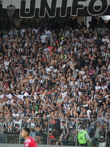Torcida do Atlético-MG no estádio Independência - Bruno Cantini/Atlético-MG