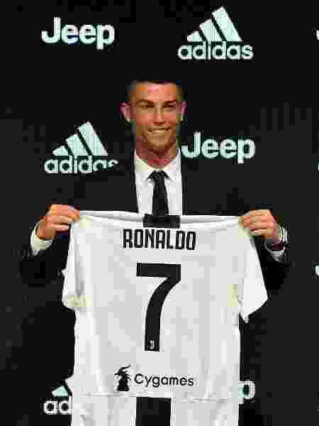 Cristiano Ronaldo, craque da Juventus, vai aparecer na tela da Record - Divulgação/Juventus