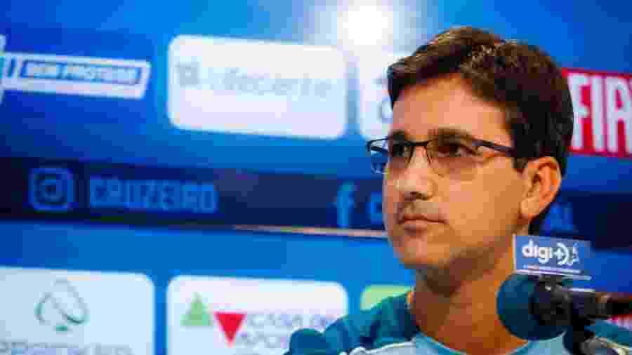 Técnico do sub-20 será interino logo mais e terá a missão de dar o primeiro passo da era pós-Mano Menezes no Cruzeiro - Vinnicius Silva/Cruzeiro