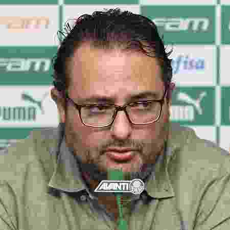 Dirigente não chegou ao Pacaembu com a delegação e viu jogo em lugar reservado por precaução  - Cesar Greco/Palmeiras/Divulgação