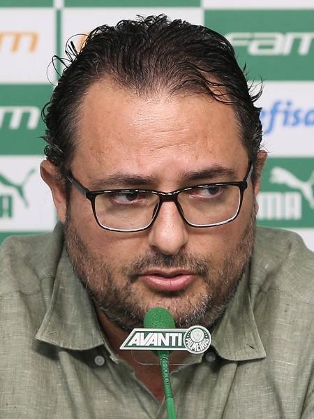 Ex-dirigente do Palmeiras, Mattos agora vai trabalhar na Inglaterra - Cesar Greco/Palmeiras/Divulgação