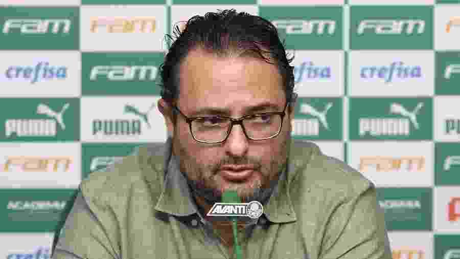 Alexandre Mattos, diretor de futebol do Palmeiras, é alvo de protestos da torcida - Cesar Greco/Palmeiras/Divulgação