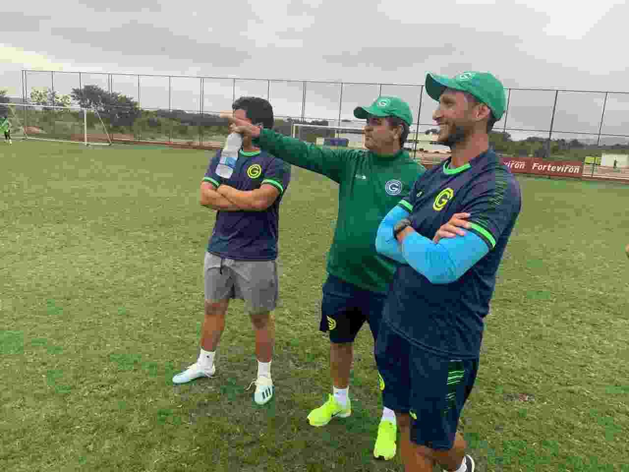 Técnico Ney Franco durante treinamento do Goiás - undefined