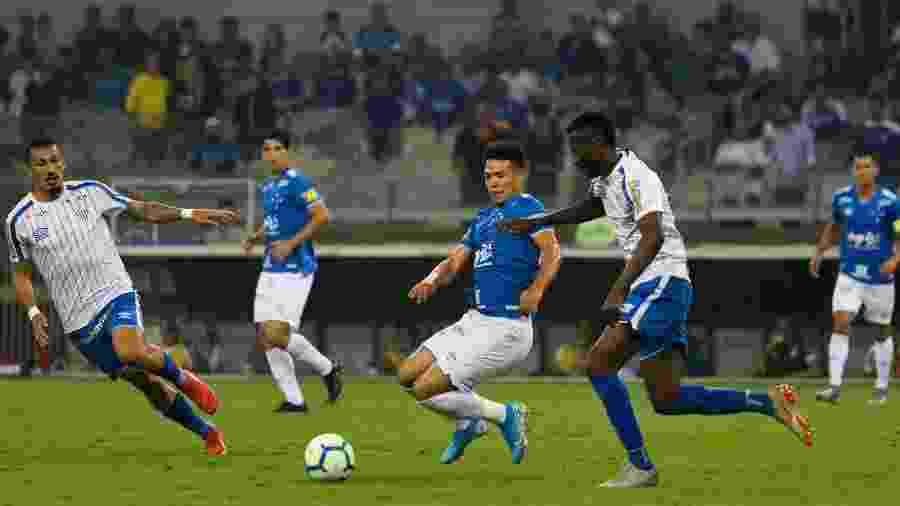 Média de 0,79 gol por partida é a pior do Cruzeiro desde que os pontos corridos são disputados com 20 equipes - Moisés Silva/Light Press/Estadão Conteúdo