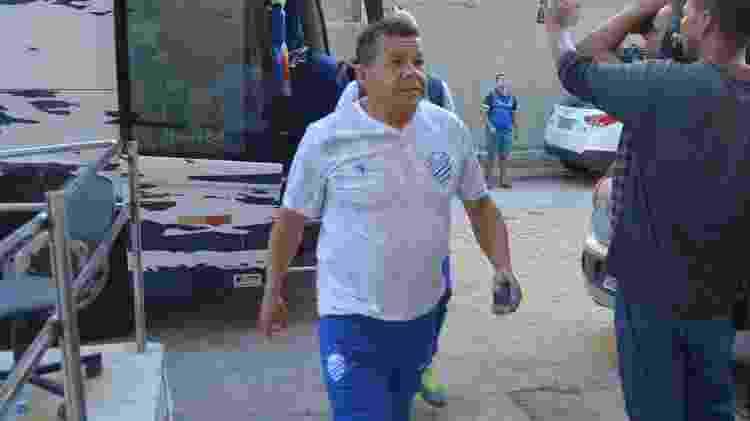Jacozinho terminou o ano de 2019 como treinador interino do CSA na Série A do Brasileiro - Divulgação/CSA