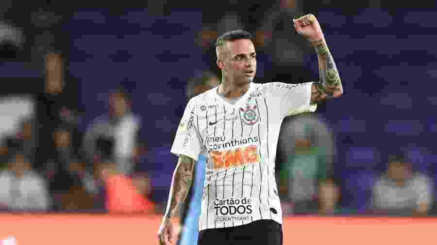 Luan comemora gol do Corinthians contra o New York City. Meia brilhou em sua estreia pelo Alvinegro ao marcar dois gols - Igor Castro/Divulgação