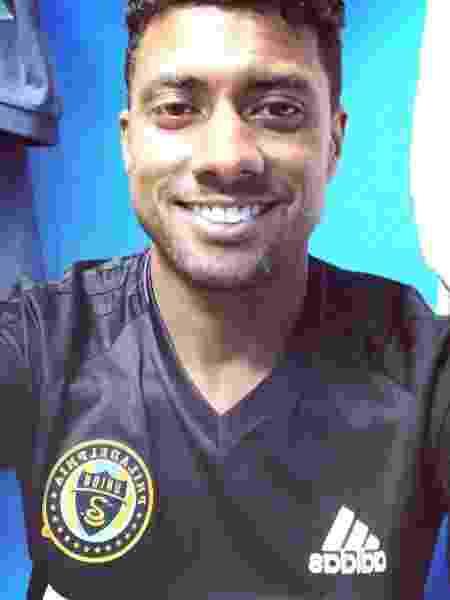 Kleberson é técnico do time sub-12 Philadelphia Union - Reprodução/Instagram