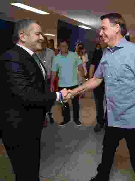 Caboclo e Bolsonaro - Lucas Figueiredo/CBF - Lucas Figueiredo/CBF
