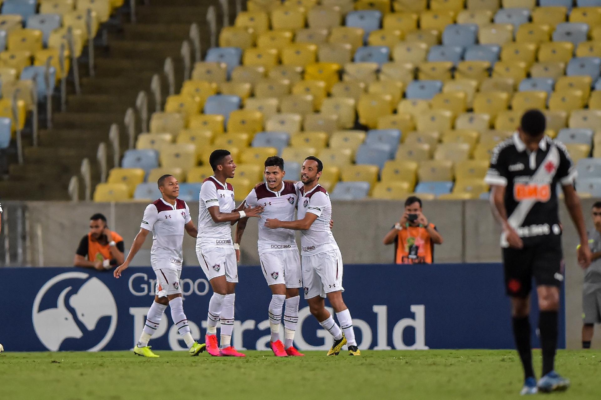 Evanilson marcou o gol do Fluminense no Maracanã