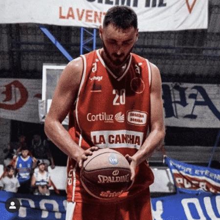 Ignacio de León morreu durante uma partida de basquete - Divulgação