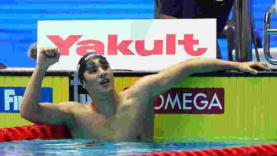 Daiya Seto, campeão mundial de natação - Quinn Rooney/Getty Images