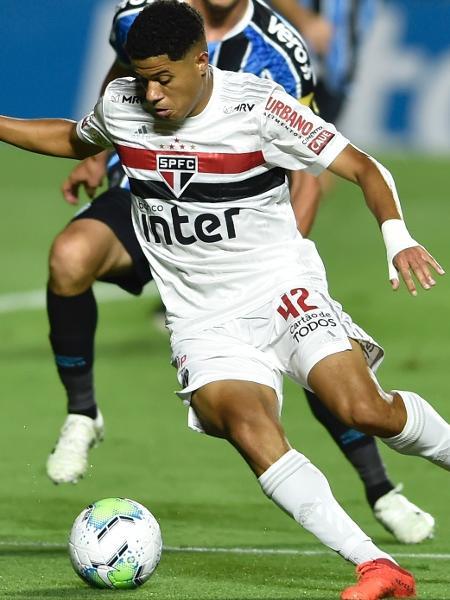Gabriel Sara, meia do São Paulo - MAURO HORITA/ESTADÃO CONTEÚDO