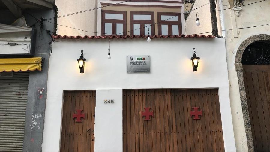 Centro Cultural Cândido José de Araújo: local onde ocorreu a fundação do Vasco ganha apoio de cervejaria - Bruno Braz