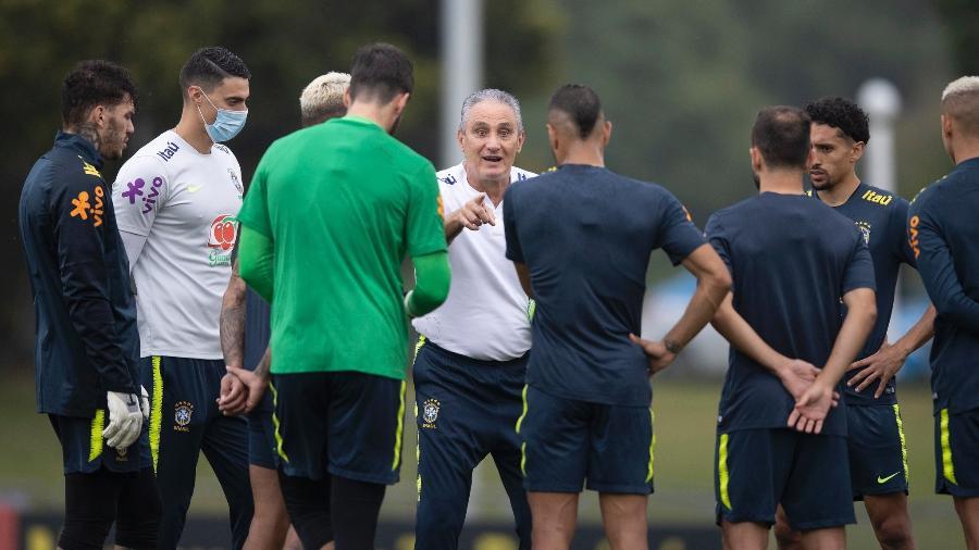 Saem Weverton, Casemiro, Coutinho e Neymar em relação ao último jogo e entram Alisson, Allan, Everton Ribeiro e Gabriel Jesus - Lucas Figueiredo/CBF