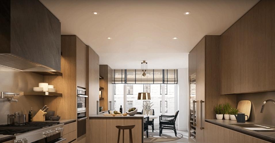 Apartamento de Tom Brady e Gisele Bundchen, em Nova York