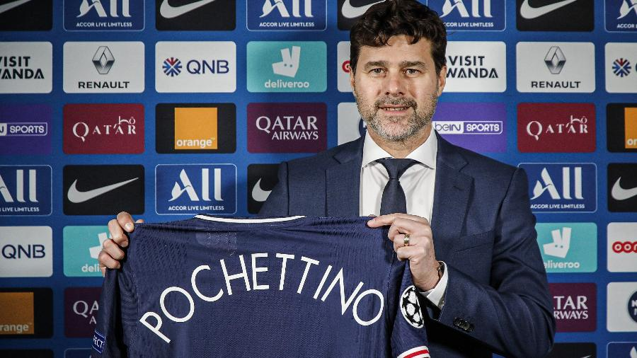 Técnico do PSG desde o fim do ano passado, argentino relembrou afirmação sobre rejeição ao Barcelona - Paris Saint-Germain Football/PSG via Getty Images