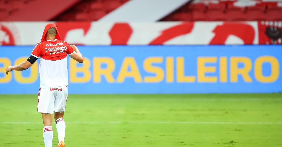 Thiago Galhardo lamenta empate contra o Corinthians