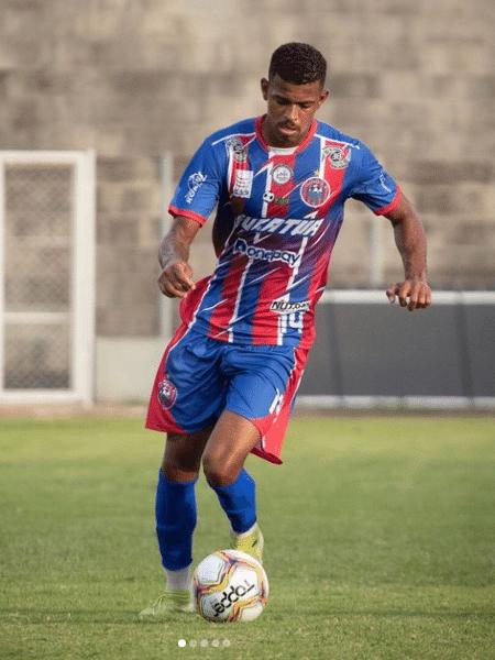 Castro é um dos atletas do Cascavel afastado pela Federação Paranaense - Reprodução