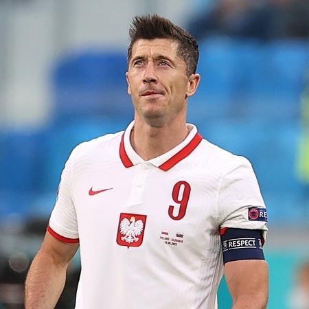 Lewandowski lamenta gol da Eslováquia  - Lars Baron/Getty Images