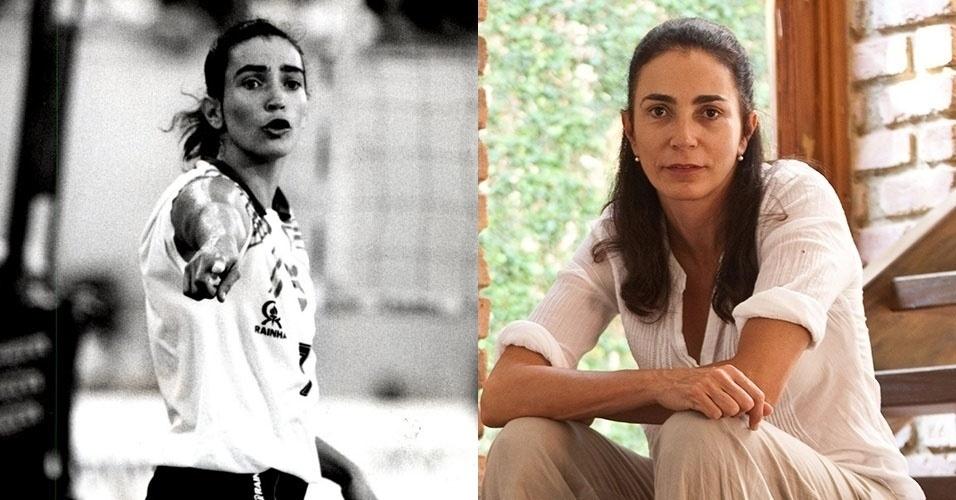 Uma das principais jogadoras de vôlei da história do país, Isabel não mudou muito com o passar dos anos
