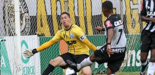 Robinho estreou como titular do Atlético-MG contra a URT e não conseguiu marcar naquela tarde - Bruno Cantini/Atlético-MG