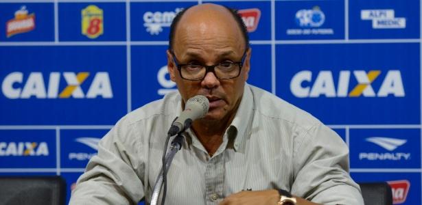 Geraldo Delamore, técnico interino do Cruzeiro