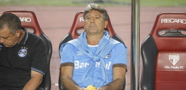 O técnico Renato Gaúcho montará a semana do Grêmio de olho na decisão