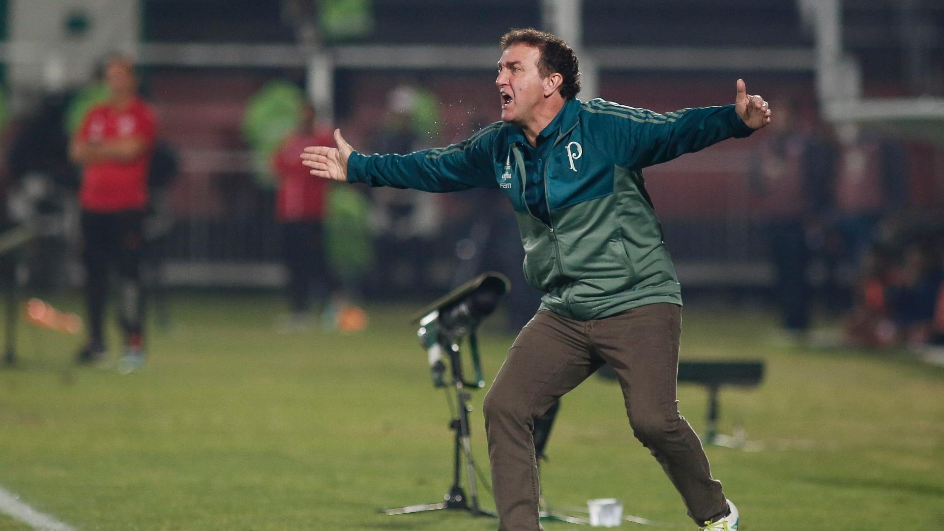 Cuca comanda o Palmeiras contra o Flamengo na Ilha do Urubu