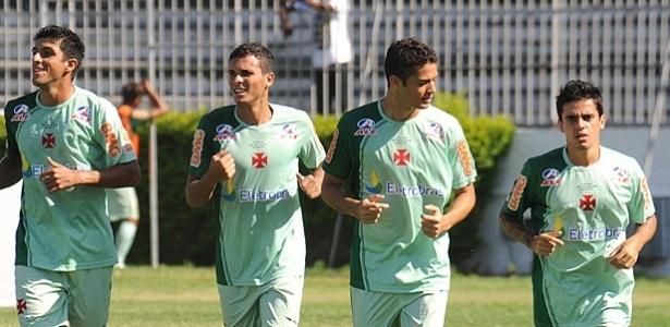 Ramon, Anderson Martins e Fagner nos tempos de Vasco, em 2011