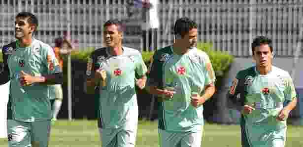 Ramon, Anderson Martins e Fagner nos tempos de Vasco, em 2011 - Marcelo Sadio/Flickr do Vasco