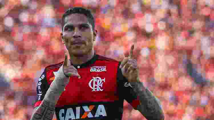 Guerrero no Flamengo 2 - Buda Mendes/Getty Images - Buda Mendes/Getty Images
