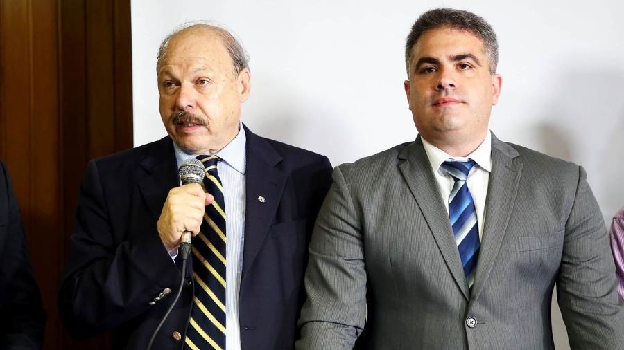 José Carlos Peres e Orlando Rollo - Pedro Ernesto Guerra Azevedo/Santos FC